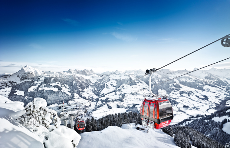 Kitzbühel is just a 15 minute train-ride away