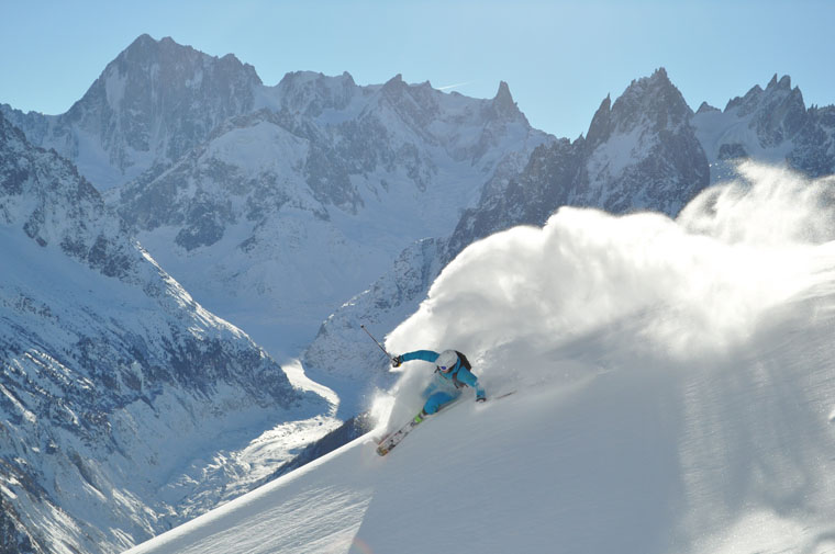 Ski lines like this | Chamonix Tourist Office / Christophe Henry