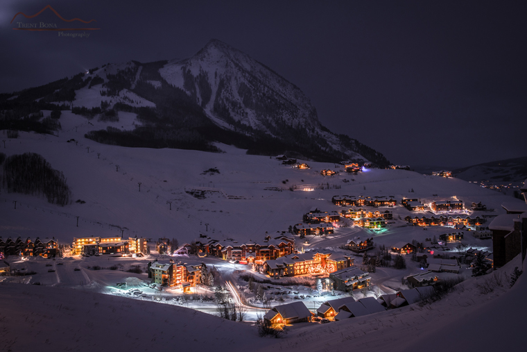 2:30am wake-up: Crested Butte at night | Trent Bona