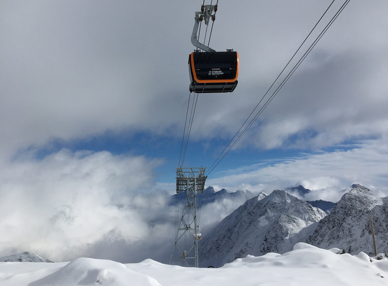 The new 3S Eisgrat Bahn, a feat of engineering |Tirol Tourist Board