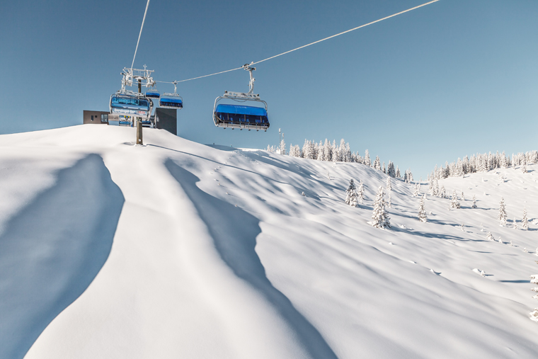 A fast lift system awaits you in Saalbach | Christian Woeckinger