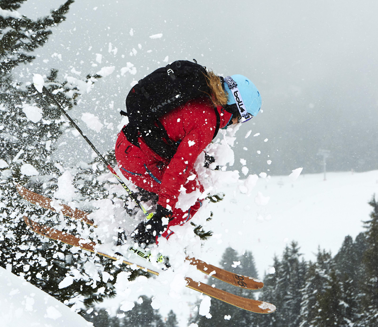 PDF's bamboo skis are aimed at the discerning big mountain powder charger | Ross Woodhall