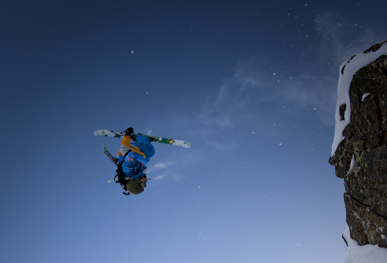 Jonny sending it at Linecatcher. Okay, we tell a lie: it's Candide. | Dom Daher/Red Bull Content Pool
