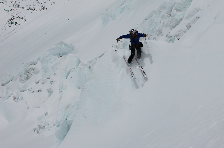 Chris gets gnarly on the Lhotse Face | Chris Davenport collection