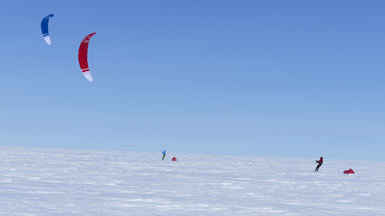 """Standard Polar travel is slow and monotonous – add a kite into the mix and you suddenly have the freedom to move fast"""