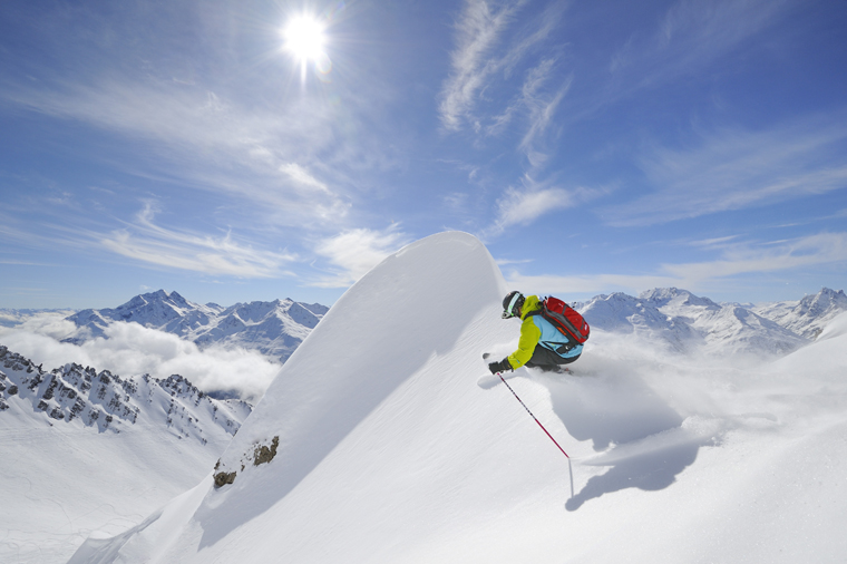 A freeride haven |PHOTO TVB ST ANTON AM ARLBERG/JOSEF MALLAUN